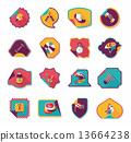 sticker background banner 13664238