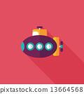 海洋 潜水艇 水下 13664568
