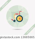 輪椅 輪子 車輪 13665665