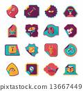 set sticker background 13667449