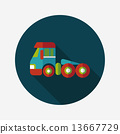 tow, truck, icon 13667729