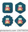 toaster, bread, icon 13670638