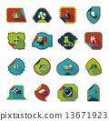 set sticker background 13671923