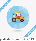 重的 拖拉機 建造 13672096