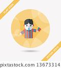 足球 裁判員 ICON 13673314
