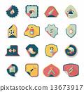 sticker background banner 13673917