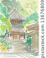 Iwayaji寺双塔 13676809