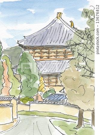 Todaiji Temple 13676812