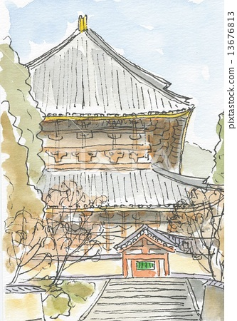 Todaiji Temple 13676813