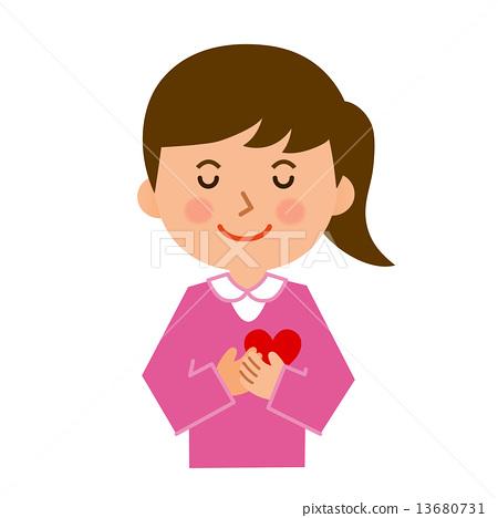 有一顆心的女性 13680731