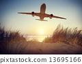 飞机 户外 室外 13695166