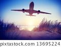 飞机 户外 室外 13695224
