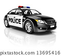Police Car 13695416