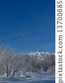 Shinshu Hakuba winter season sightseeing material image 13700685