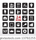 Food And Beverage Icon Set. 13702255