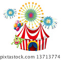 amusement fireworks park 13713774