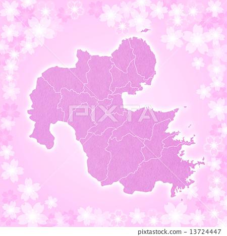 Oita Prefecture Map 13724447