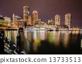 boston, harbor, financial 13733513