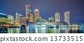 boston, harbor, financial 13733515