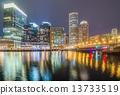 boston, harbor, financial 13733519