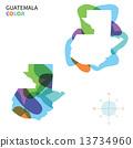 guatemala, vector, color 13734960