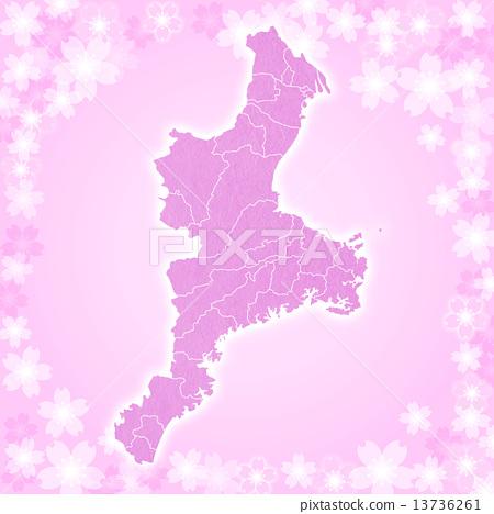 Mie Prefecture Map 13736261
