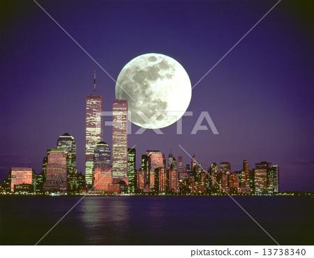 1990 년대의 뉴욕과 달 13738340