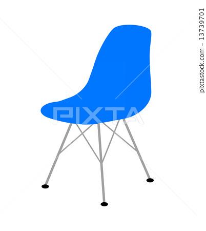 Blue chair 13739701