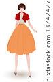 fashion evening dress 13742427