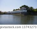hikone, castle, moat 13743273