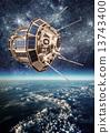 卫星 空间 地球 13743400