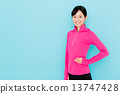 sportswear, sportswoman, sports 13747428