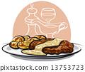 baked pork 13753723