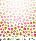 Invitation Card with Sweet Cake Pattern 13754757