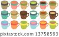 커피, 커피 컵, 머그컵 13758593