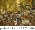 Texture of stones under water 13758966
