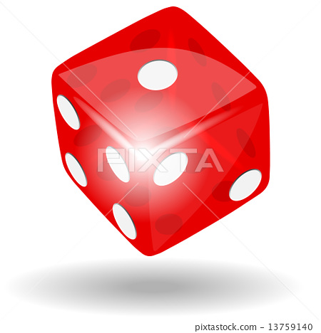 Red dice 13759140