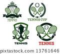 網球 球拍 網 13761646