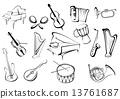 musical music instrument 13761687