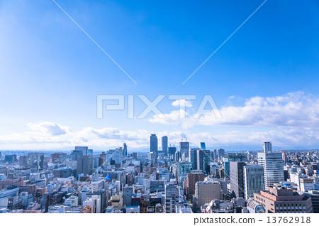Nagoya · Urban landscape 【View toward Nagoya Station】 13762918