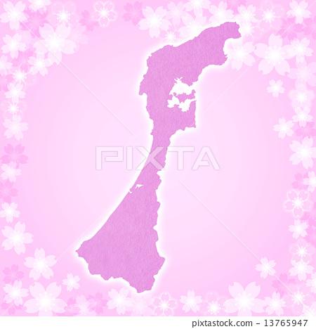Ishikawa Prefecture Map 13765947