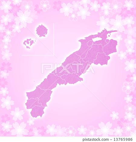 Shimane Prefecture Map 13765986