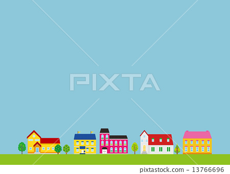 House Street Residential Area 13766696