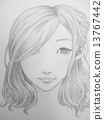 hand drawn, handdrawn, monochrome 13767442