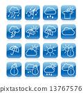 날씨 아이콘 13767576
