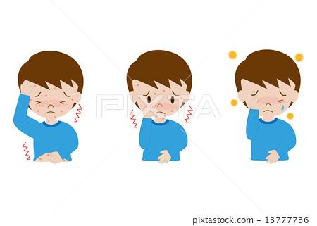 Symptoms of children (allergy) 13777736