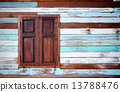 wood, window, wall 13788476