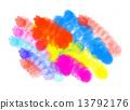 blot texture abstract 13792176