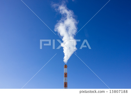 Chimney and smoke 13807188