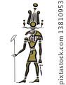 Khensu - God of ancient Egypt 13810953